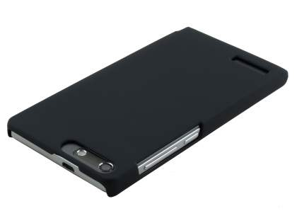 UltraTough Rubberised Slim Case for Huawei Ascend G6 4G - Night Black
