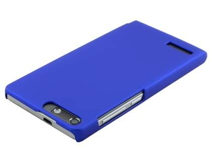 Huawei Ascend G6 4G UltraTough Rubberised Slim Case - Navy Blue