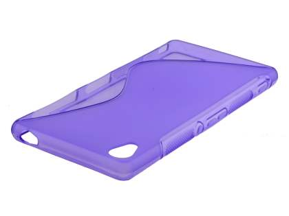 Sony Xperia Z3 Wave Case - Frosted Purple/Purple