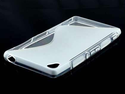 Sony Xperia Z3 Wave Case - Frosted Clear/Clear