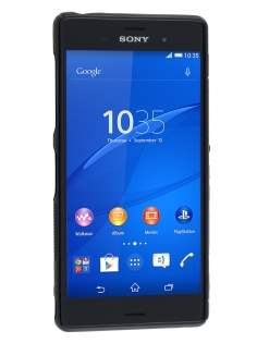 Sony Xperia Z3 Wave Case - Frosted Black/Black