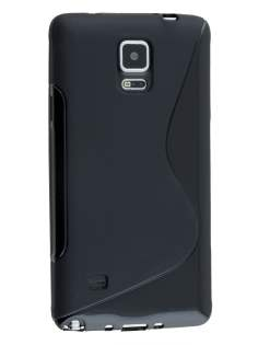 Wave Case for Samsung Galaxy Note 4 - Frosted Black/Black