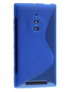 Wave Case for Nokia Lumia 830 - Frosted Blue/Blue Soft Cover