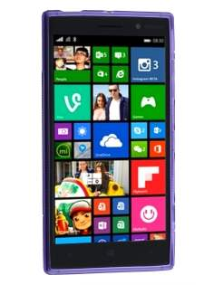 Wave Case for Nokia Lumia 830 - Frosted Purple/Purple