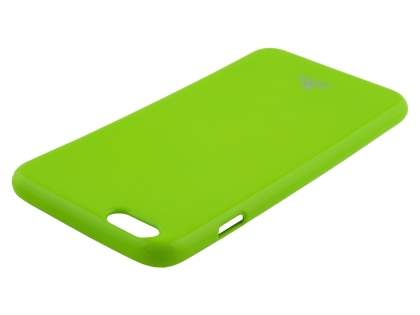Mercury Goospery Glossy Gel Case for iPhone 6s Plus/6 Plus - Lime Green
