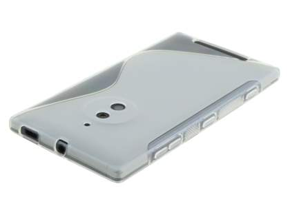 Wave Case for Nokia Lumia 830 - Frosted Clear/Clear