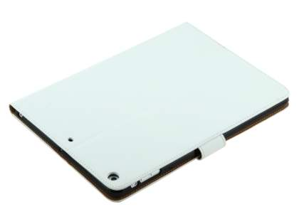 Premium Genuine Leather Case with Stand for iPad Air 1st Gen - Pearl White