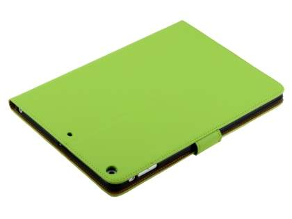 Premium Genuine Leather Case with Stand for iPad Air 1st Gen - Green