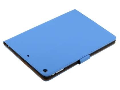 Premium Genuine Leather Case with Stand for iPad Air 1st Gen - Sky Blue