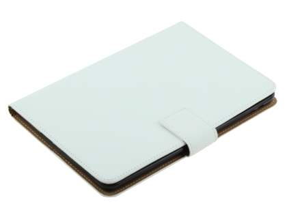 Premium Genuine Leather Case with Stand for iPad mini 1/2/3 - Pearl White