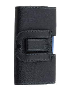 Textured Synthetic Leather Belt Pouch (Bumper Case Compatible) for Samsung Galaxy Alpha