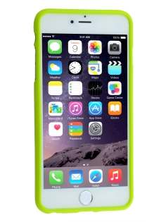 Mercury Goospery Glossy Gel Case for iPhone 6s/6 - Lime Green
