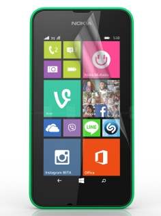 Ultraclear Screen Protector for Nokia Lumia 530 - Screen Protector