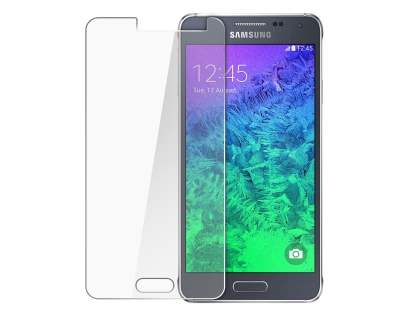 Tempered Glass Screen Protector for Samsung Galaxy Alpha - Screen Protector