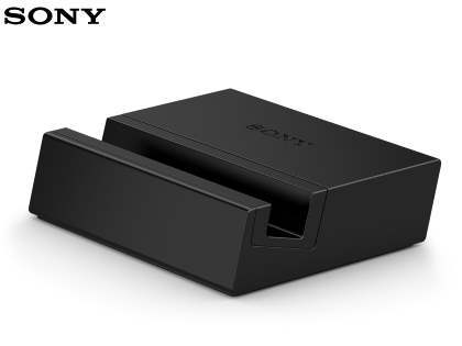 Genuine Sony Xperia Z3 Charging Dock DK48 - Classic Black Charging Dock for Sony
