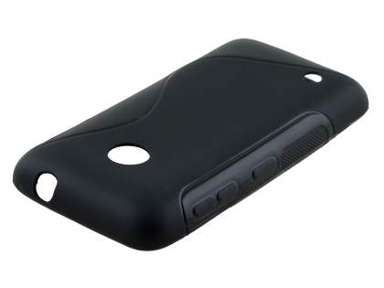 Wave Case for Nokia Lumia 530 - Frosted Black/Black
