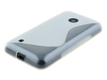 Wave Case for Nokia Lumia 530 - Frosted Clear/Clear