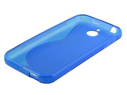 Wave Case for HTC Desire 510 - Frosted Blue/Blue