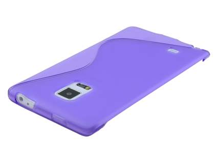 Wave Case for Samsung Galaxy Note Edge - Frosted Purple/Purple