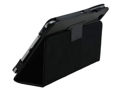 Samsung Galaxy Tab Pro 8.4 Synthetic Leather Flip Case with Fold-Back Stand - Classic Black