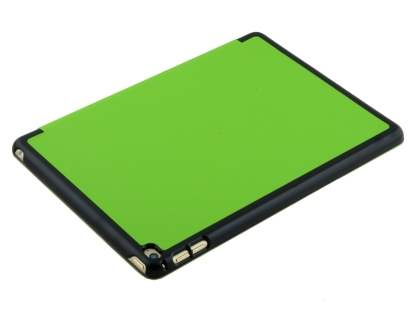 Premium Slim Synthetic Leather Flip Case with Stand for iPad Air 2 - Green