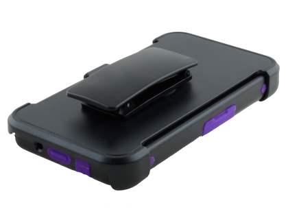 BlackBerry Z10 Impact Case - Classic Black/Purple