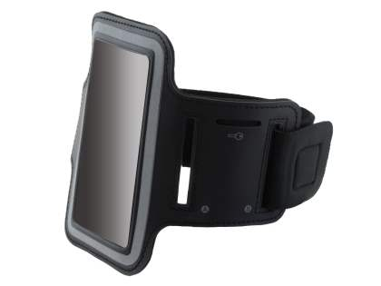 Universal Sports Armband for Phones - Classic Black Sports Arm Band