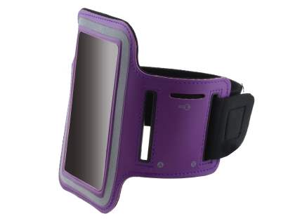 Universal Sports Armband for Phones - Purple