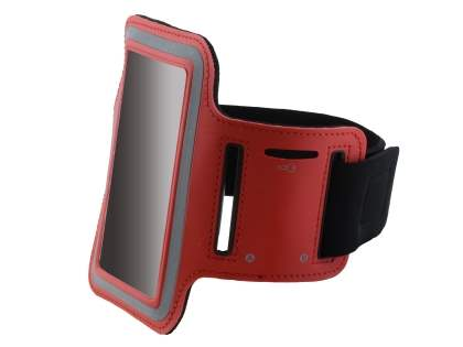 Universal Sports Armband for Phones - Red