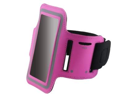 Universal Sports Armband for Phones - Hot Pink