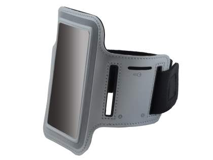 Universal Sports Armband for Phones - Grey Sports Arm Band