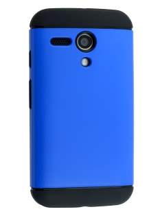 Impact Case for Motorola Moto G - Blue/Black Impact Case