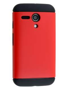 Impact Case for Motorola Moto G - Red/Black Impact Case