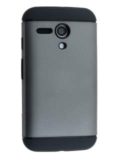 Impact Case for Motorola Moto G - Grey/Black Impact Case