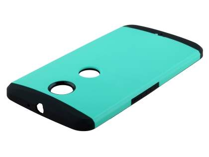 Motorola Google Nexus 6 Impact Case - Mint/Black