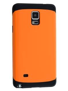 Samsung Galaxy Note 4 Impact Case - Orange/Black