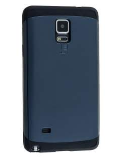 Samsung Galaxy Note 4 Impact Case - Midnight Blue/Black