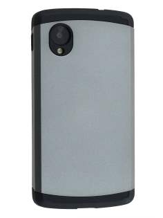 Impact Case for LG Google Nexus 5 - Light Grey/Black Impact Case