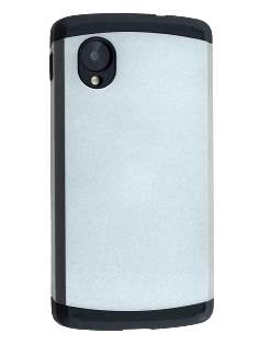 Impact Case for LG Google Nexus 5 - Silver/Black Impact Case