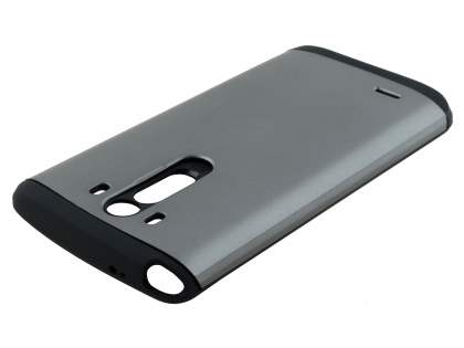 LG G3 Impact Case - Light Grey/Black