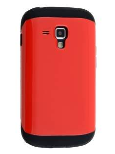 Impact Case for Samsung Galaxy Trend Plus S7583T/S Duos S7562 - Red/Black Impact Case