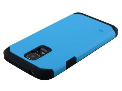 Samsung Galaxy S5 Impact Case - Sky Blue/Black