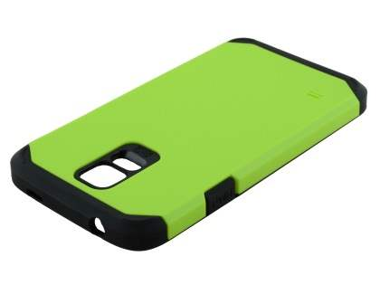 Samsung Galaxy S5 Impact Case - Green/Black