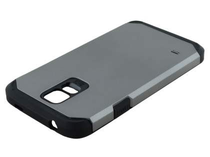 Samsung Galaxy S5 Impact Case - Light Grey/Black