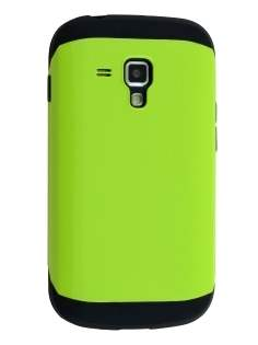 Samsung Galaxy Trend Plus S7583T / S Duos S7562 Impact Case - Green/Black