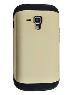 Impact Case for Samsung Galaxy Trend Plus S7583T/S Duos S7562 - Gold/Black Impact Case