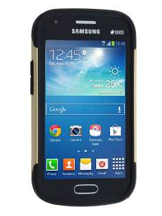 Samsung Galaxy Trend Plus S7583T / S Duos S7562 Impact Case - Gold/Black