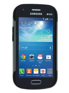 Samsung Galaxy Trend Plus S7583T / S Duos S7562 Impact Case - Grey/Black