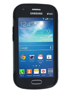 Samsung Galaxy Trend Plus S7583T / S Duos S7562 Impact Case - Midnight Blue/Black