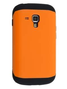 Impact Case for Samsung Galaxy Trend Plus S7583T/S Duos S7562 - Orange/Black